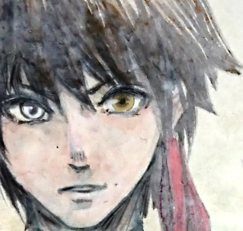 格安で高品質アイコン描きます イラスト界でも珍しい日本画のイラスト作ります イメージ1