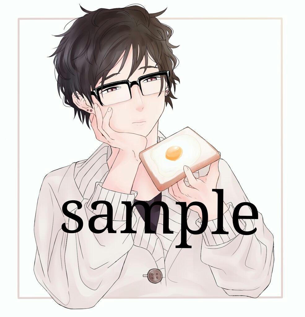 SNSのアイコンお描きします 細かい創作や版権も可能です。お気軽にご依頼下さい!