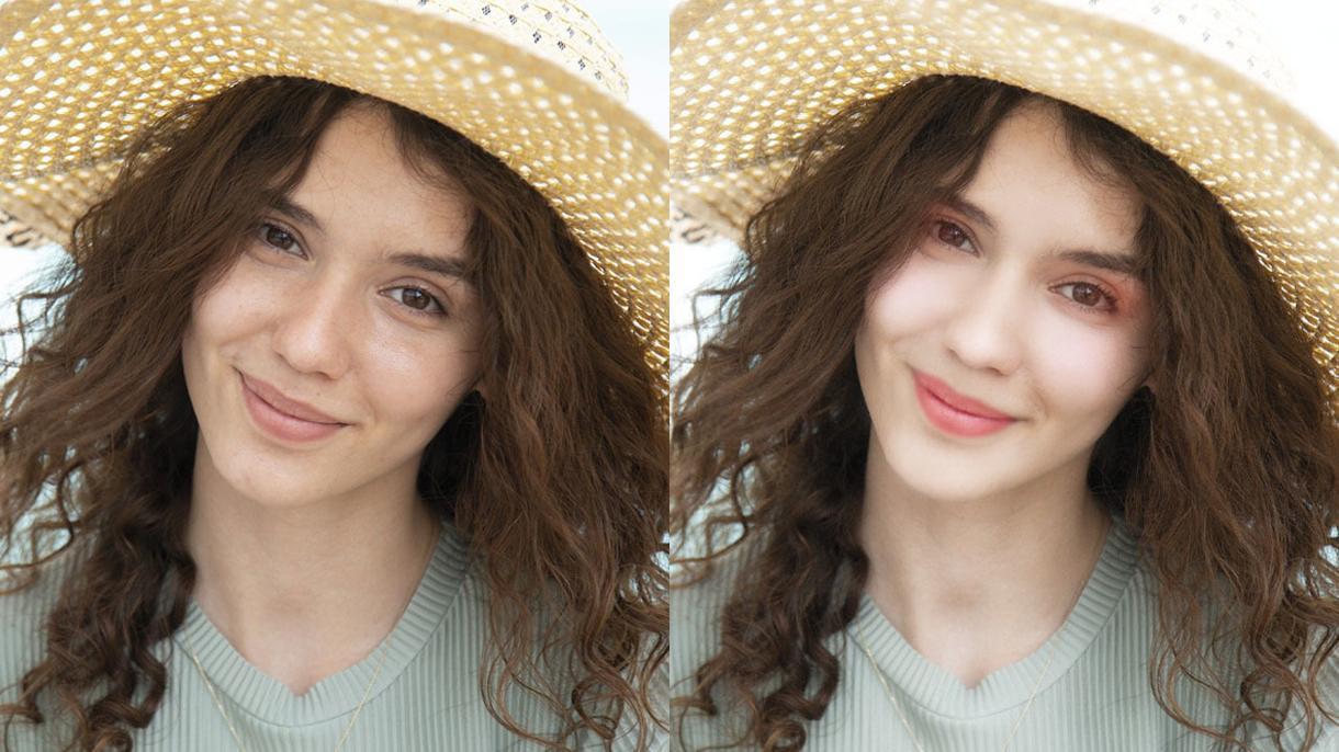 美肌修正、ワンランクアップの写真に仕上げます photoshopを使用して自然なレタッチに仕上げます イメージ1