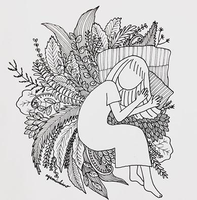 物語、小説、詩などに合う不思議な挿絵や表紙描きます