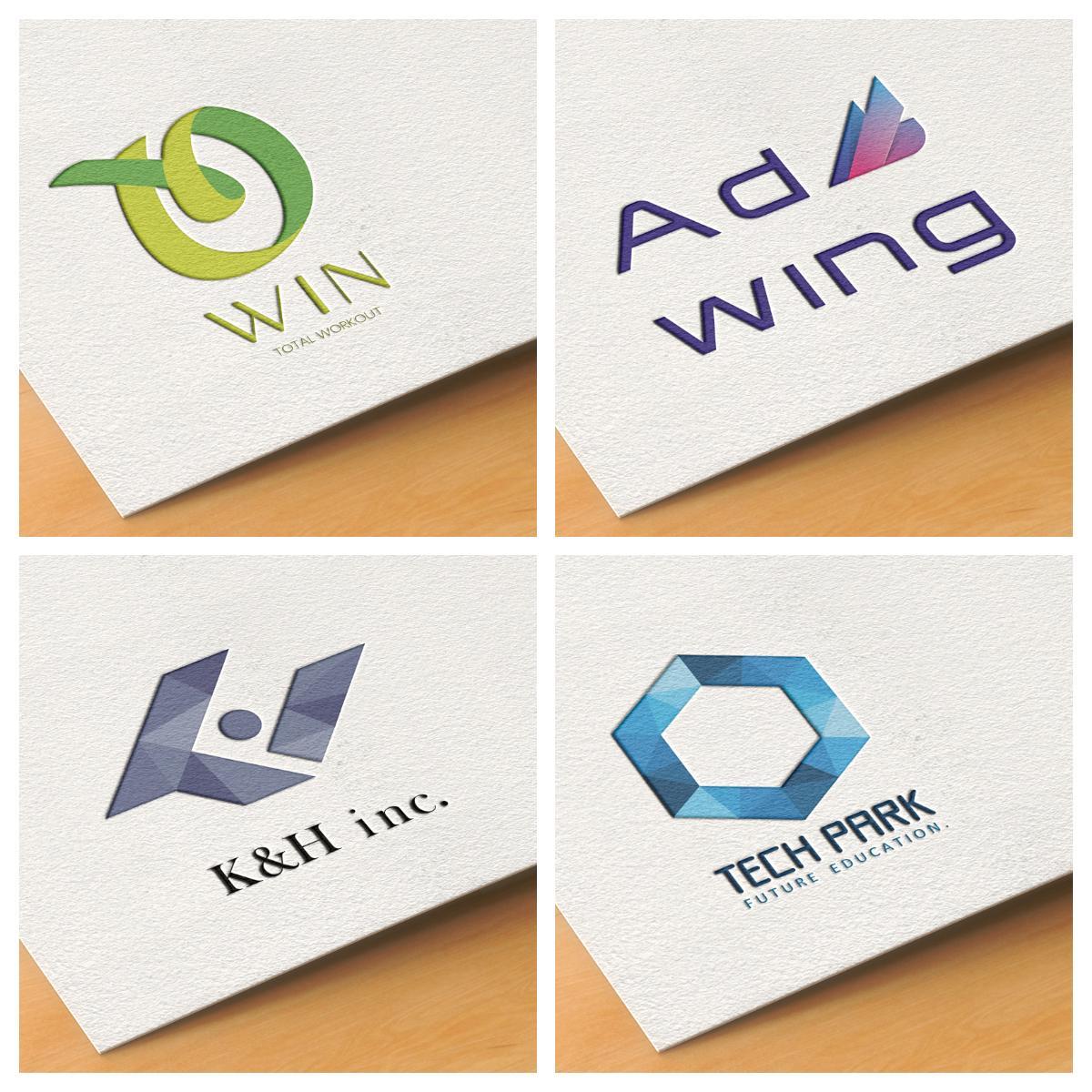 パッと目を惹く高品質なロゴをお作りします おしゃれなデザイン | 名刺等作成もOK | お急ぎ歓迎!