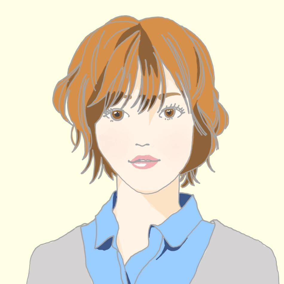 シンプル・優しい雰囲気の似顔絵アイコンお作りします SNSやブログ等のプロフィール用にオススメ*