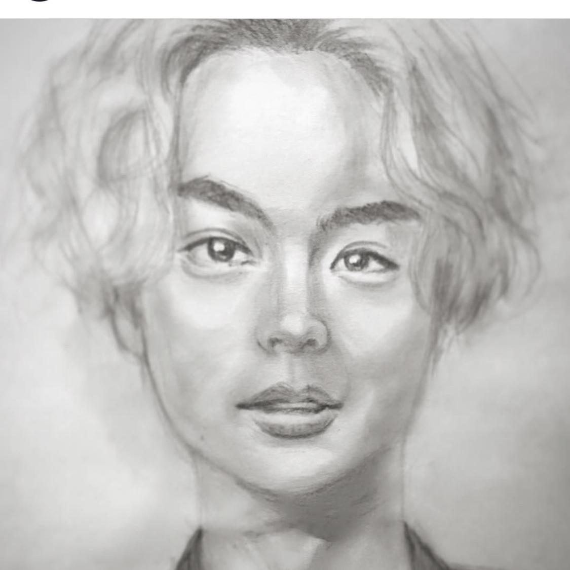 似ている似顔絵(ちょい盛り)描きます そっくりな似顔絵を気を使って2割増で描きます!