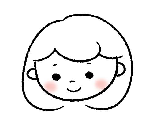 ゆるかわにやさしさ+の似顔絵描きます かわいくてやさしいアイコンをお探しのあなたに(#^.^#)♡