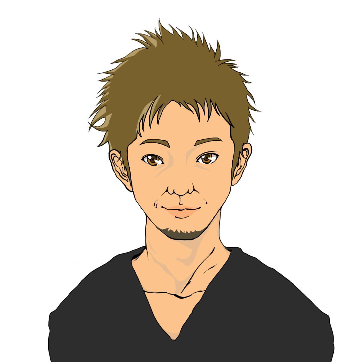 紹介用の似顔絵を作成致します HP等で紹介用の似顔絵を必要とされている方