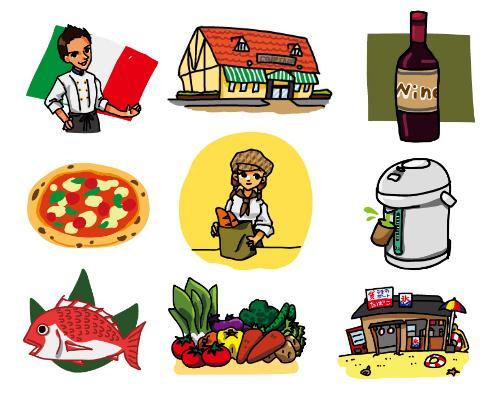 挿し絵イラスト描きます 広告用、企業資料用などのシンプルなイラストを描きます。