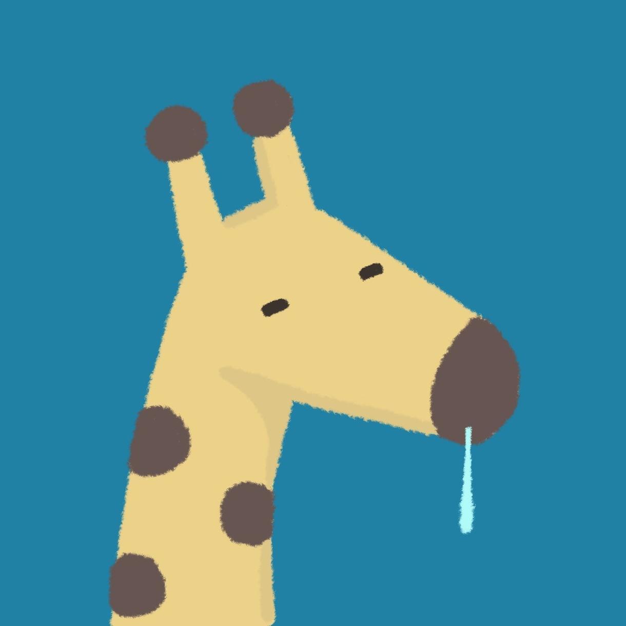 完全にゆるい動物や無機物のイラストアイコン描きます いかした脱力系アイコンにしてゆるんでいきましょう