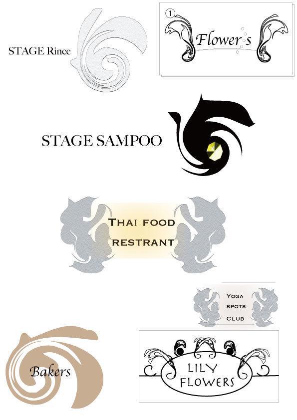 モダン・クラッシックなロゴの作成をします ロゴの作成Adove IIIustrator2019での制作 イメージ1