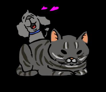 ペットのイラストお描きします あなたの可愛いペットをイラストにします!