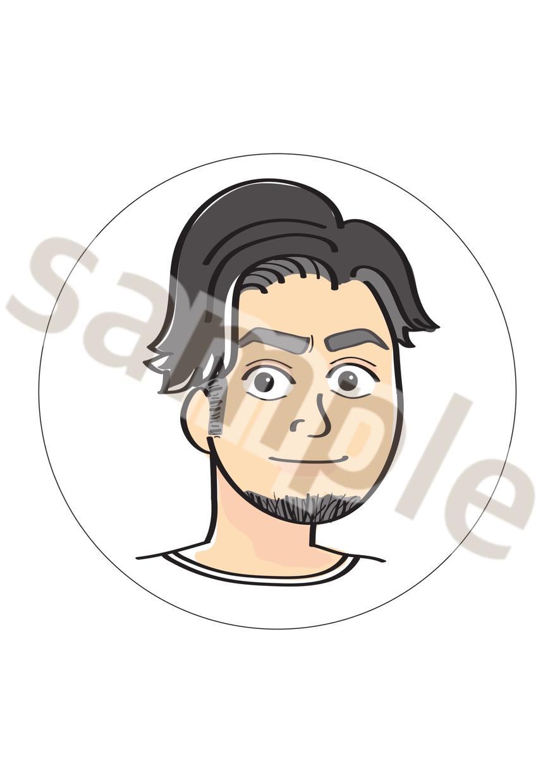 ゆるいタッチのイラスト描きます 脱力系イラストであなたの個性を!