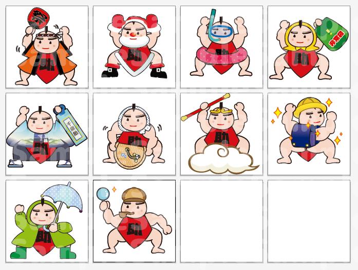既存のキャラクターの表情変化や着替えたイラストを描きます【バリエーション制作】