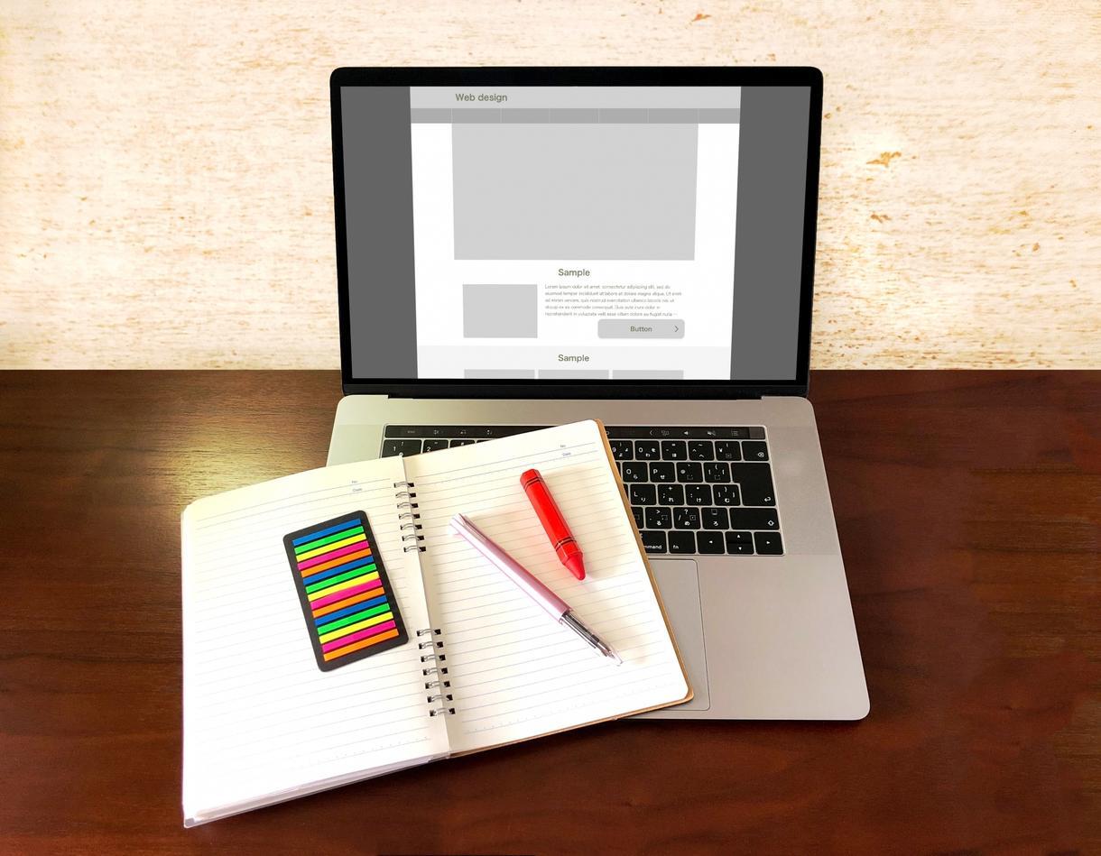 実績づくり向け!! WEBサイト制作を依頼します ポートフォリオ実績づくりをしたい方向けのホームページ制作依頼 イメージ1