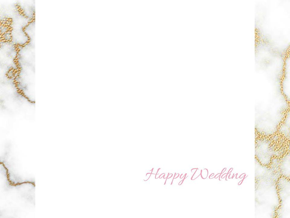 結婚式のフォトの加工します Happy Weddingの画像を作ります!