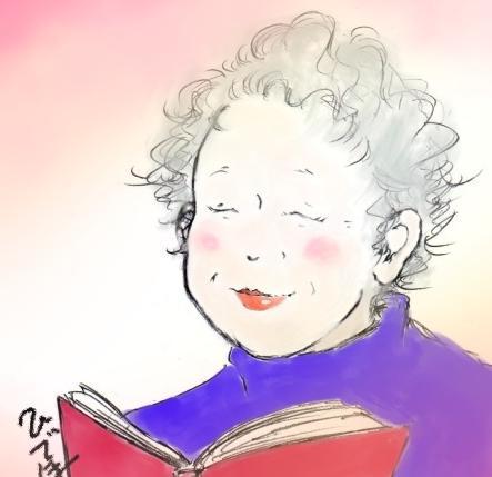 貴方の「おばあちゃま」描かせて下さい。ます お誕生日や、敬老の日など♪おばあちゃんへプレゼント!