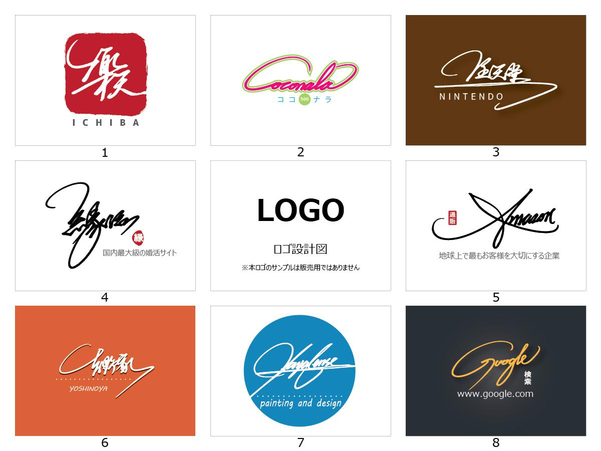 aiファイル納品 手書きサインをメインにしたロゴデザイン作成