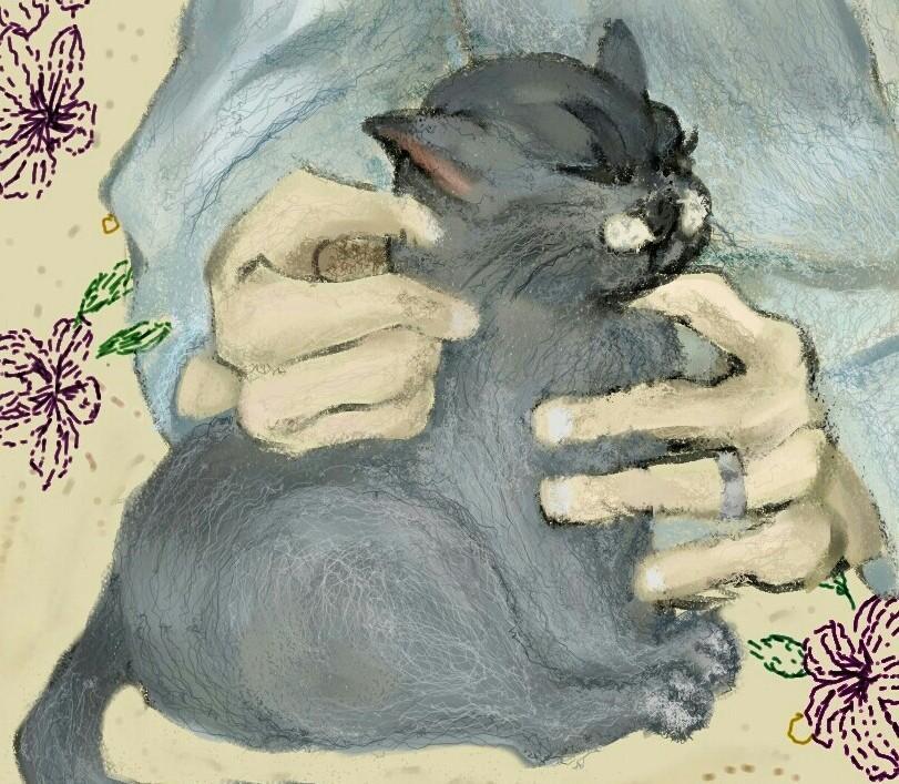 お好きなデザインのかわいい猫ちゃんを描きます 手紙や広告の隅っこや、ちょっとしたプレゼントに!