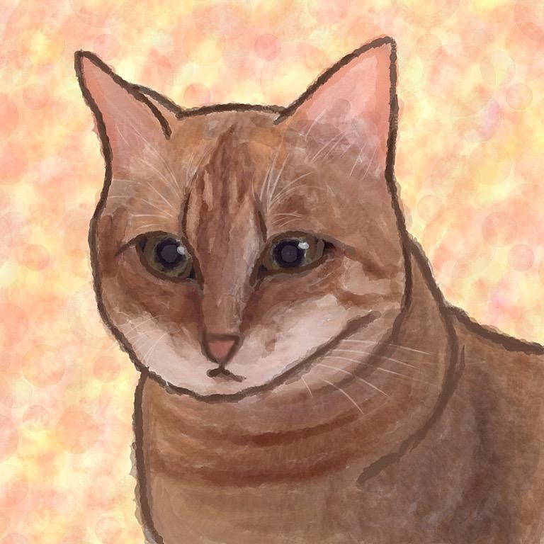 ペットなど動物の似顔絵描きます ペットや動物の似顔絵が欲しい方!