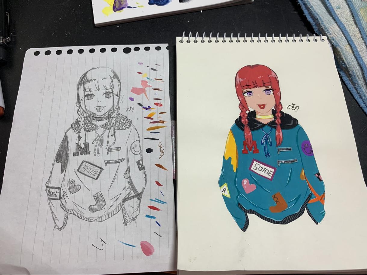 キャラクター、イラスト、絵を描きます アイコンや作品など、あなただけのオリジナル作品を提供します。