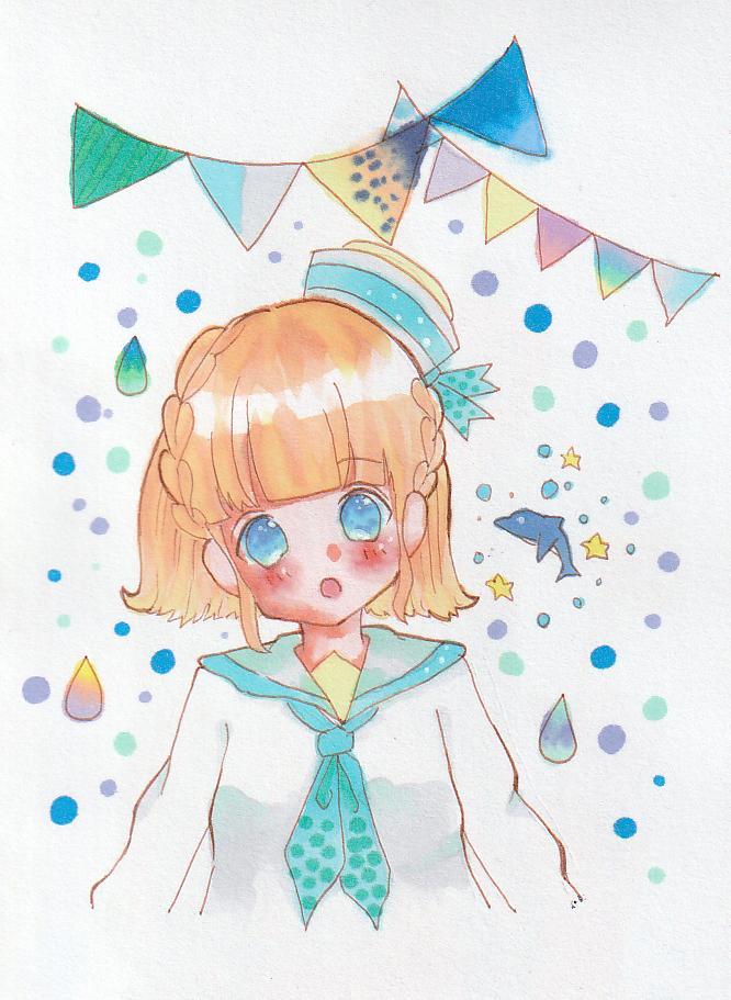 女の子のイラスト描きます かわいいアイコンで個性を出そう イメージ1