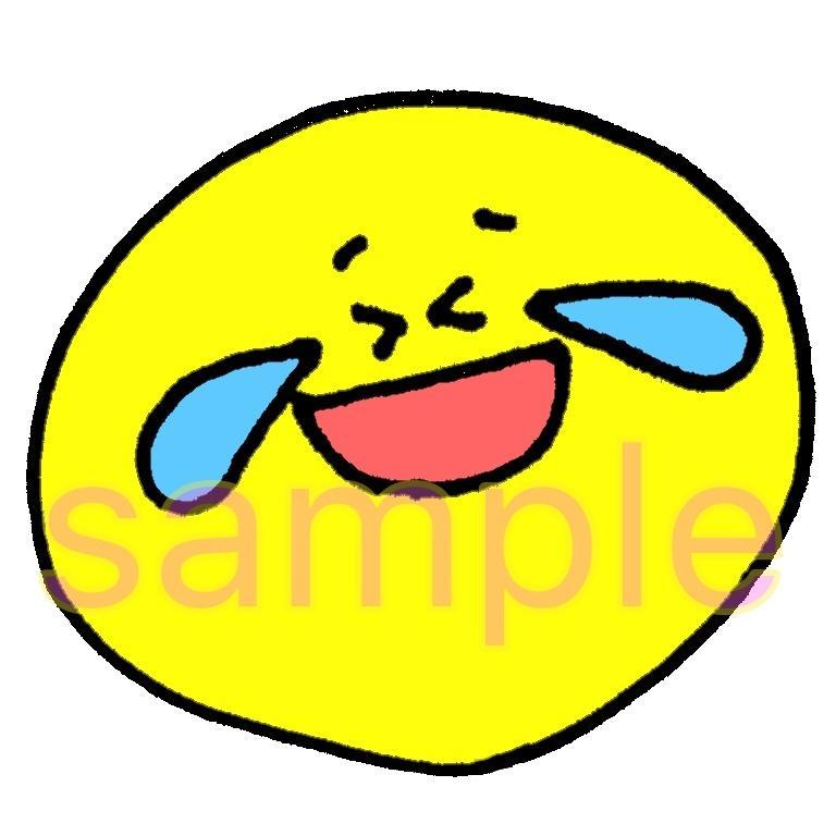 SNSアイコン表情イラスト10個セット売ります アイコン、SNS、挿絵等に使いたい放題!なごむ表情セット