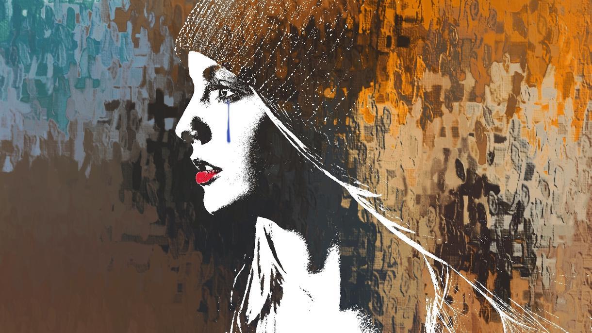 あなたの横顔をアートにします あなたの横顔の写真をアートに。