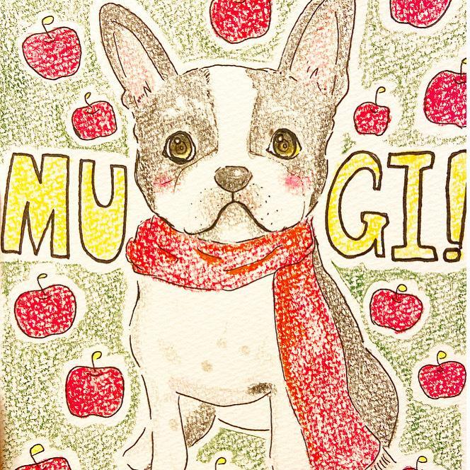 犬のイラスト描きます ペット似顔絵◎愛犬のイラスト描きます^^ イメージ1