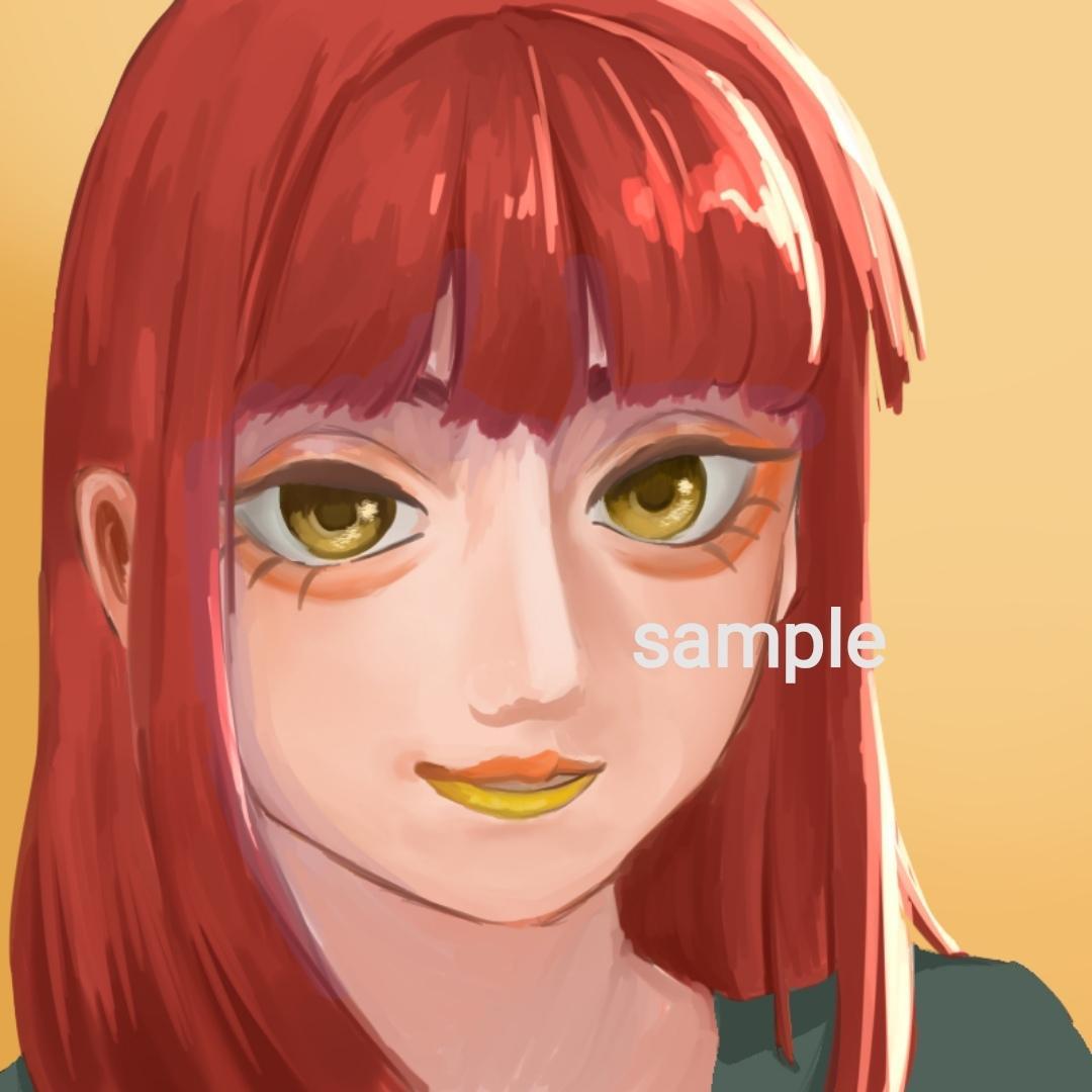 無料で小物追加OK!厚塗りかアニメ塗りで描きます 男女キャラ両方対応可、似顔絵もOKです