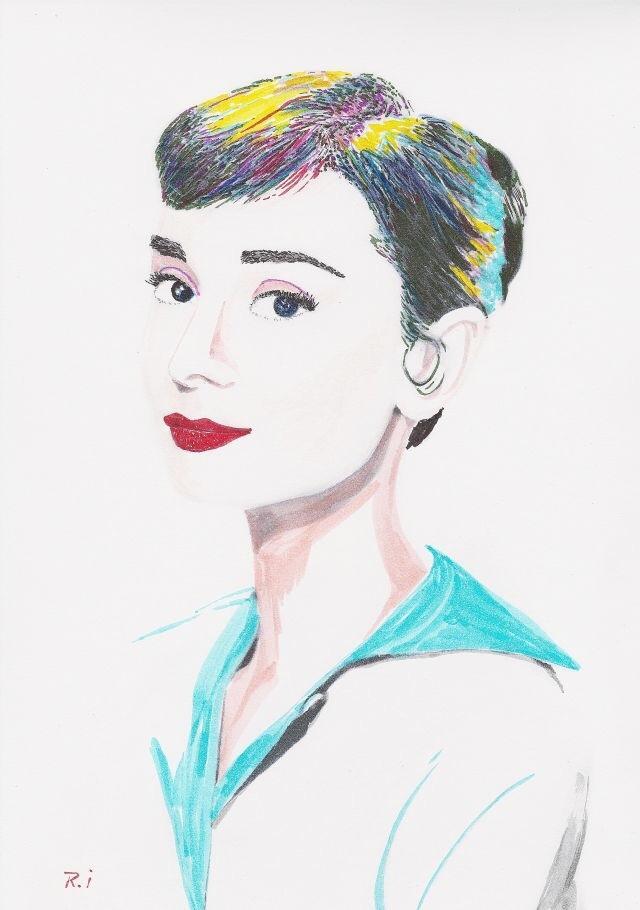 写真を元にイラストを描きます 風景や花や人物など、さまざまなものを手書きでイラスト化します イメージ1