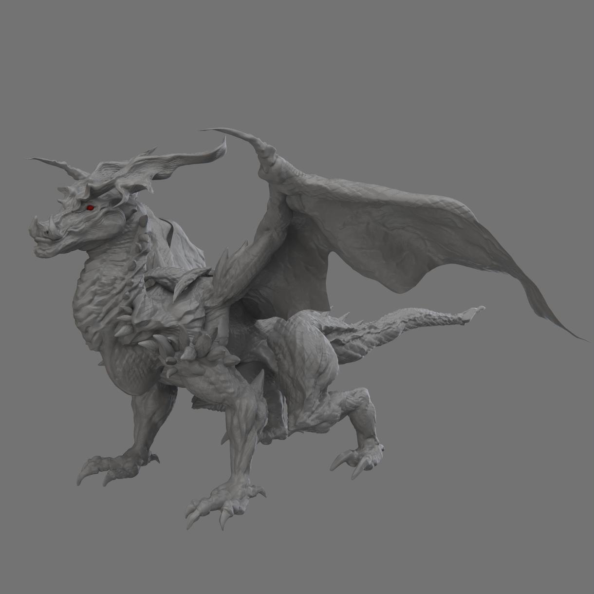 3Dのキャラクターモデル作ります オリキャラ、版権キャラを3Dフィギュア化!!
