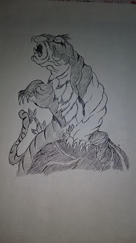 和彫りの絵を書きます 和彫りの絵を書くことが大好きです☆身体には彫れません!