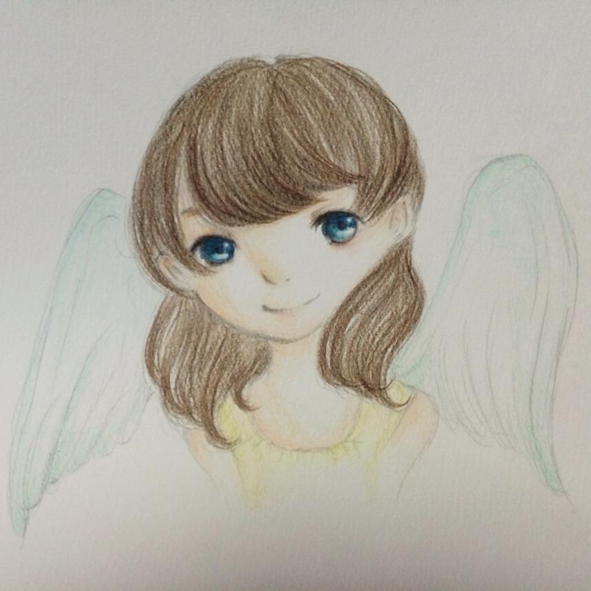 アナログイラスト描きます (^^)
