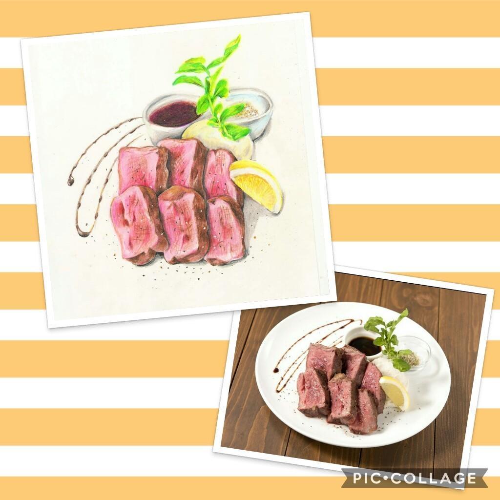 個展実績有のイラストレータが料理のイラスト描きます メニューやポップに彩りを加えたい人へ