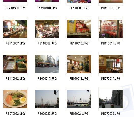 上海のローカルな写真を撮影します