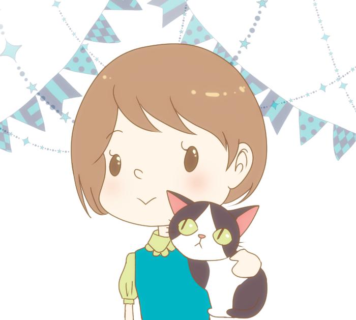 猫、ペットや人物のアイコン、挿絵を描きます ゆるっとした可愛いイラストならお任せください。