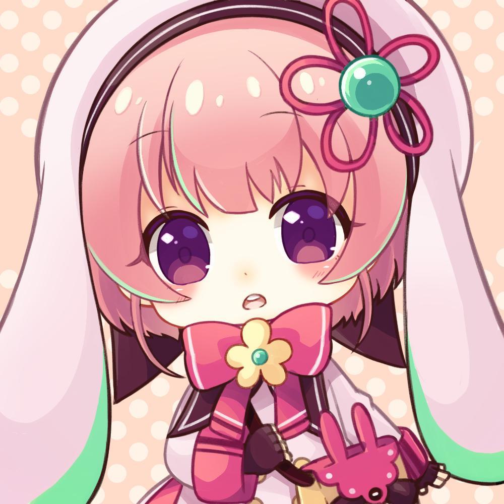 ぷにっとかわいいミニキャラアイコン制作します かわいいをお約束♪ 親しみやすくてキャッチ―な絵柄です。