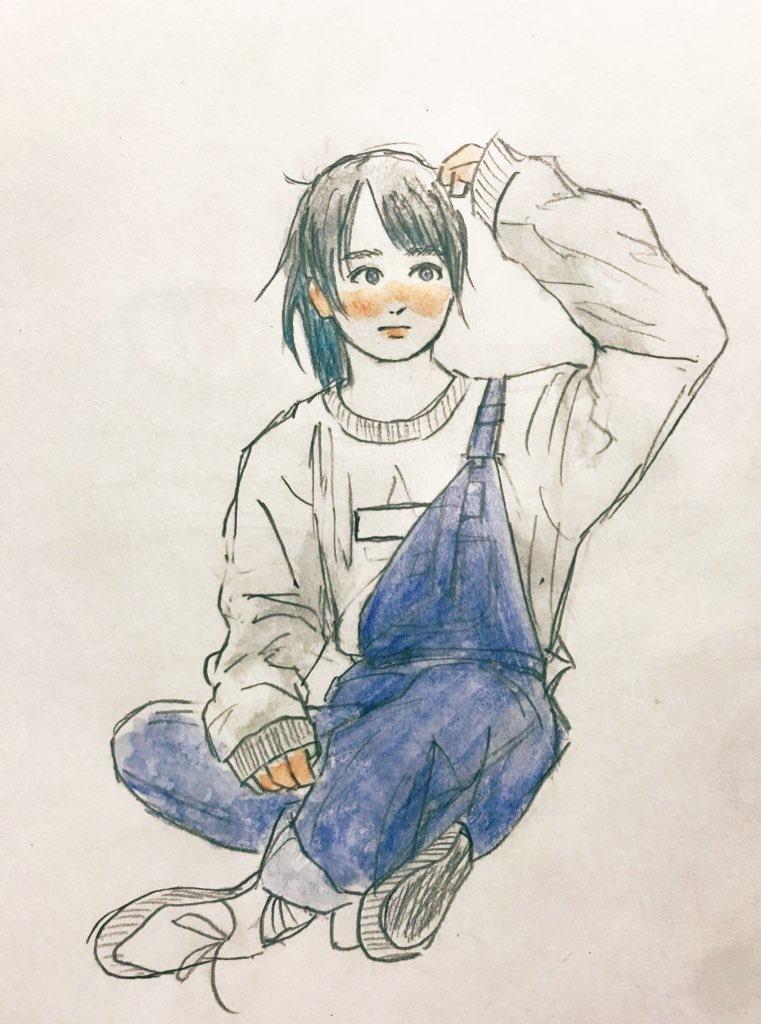 水彩色鉛筆で女の子、男の子のイラストを描きます ふんわりやわらかタッチのアナログイラストを全力丁寧に描きます イメージ1