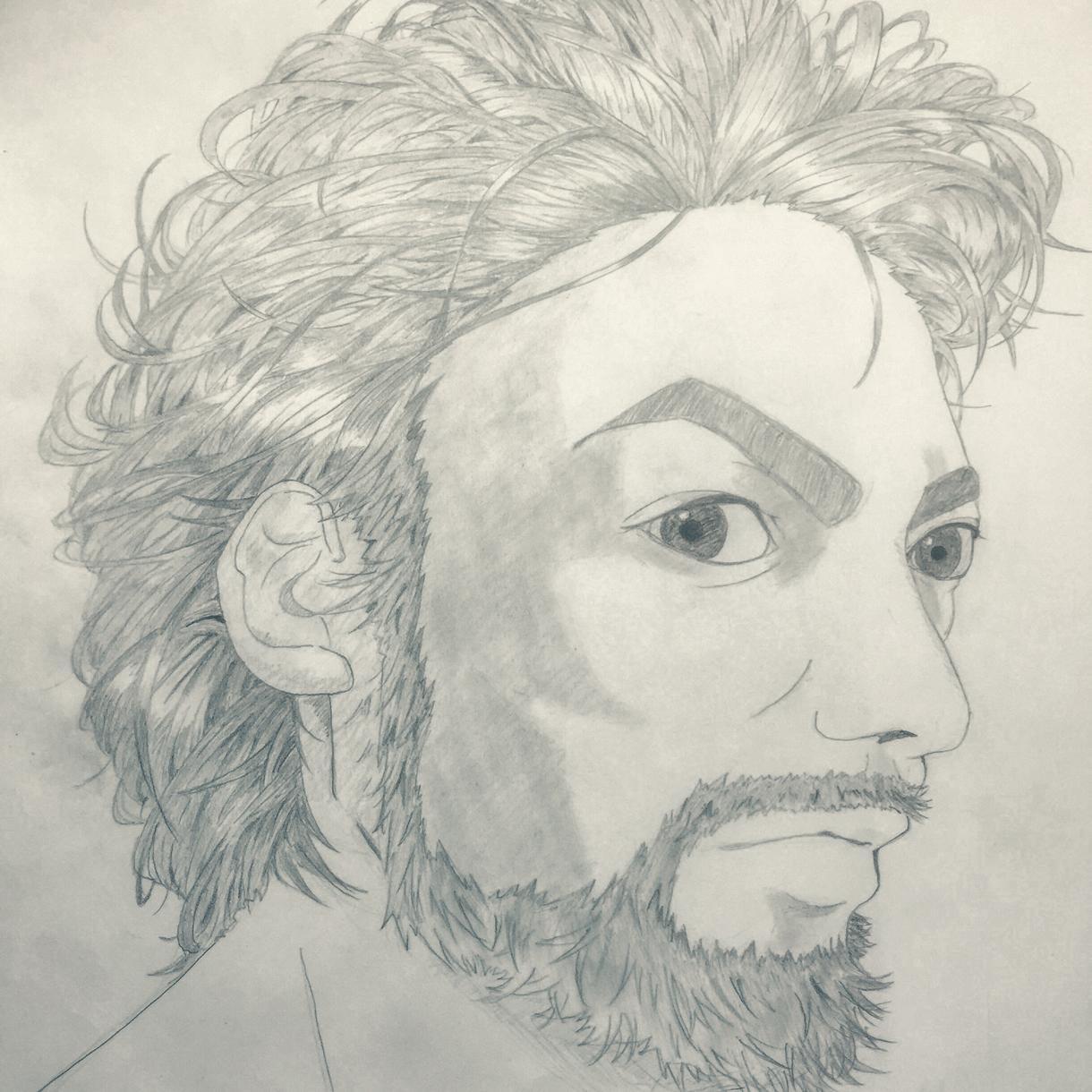 完全無料!漫画風似顔絵でカッコよくあなたを描きます 手作りの、世界に一枚しかない似顔絵が欲しい方に!