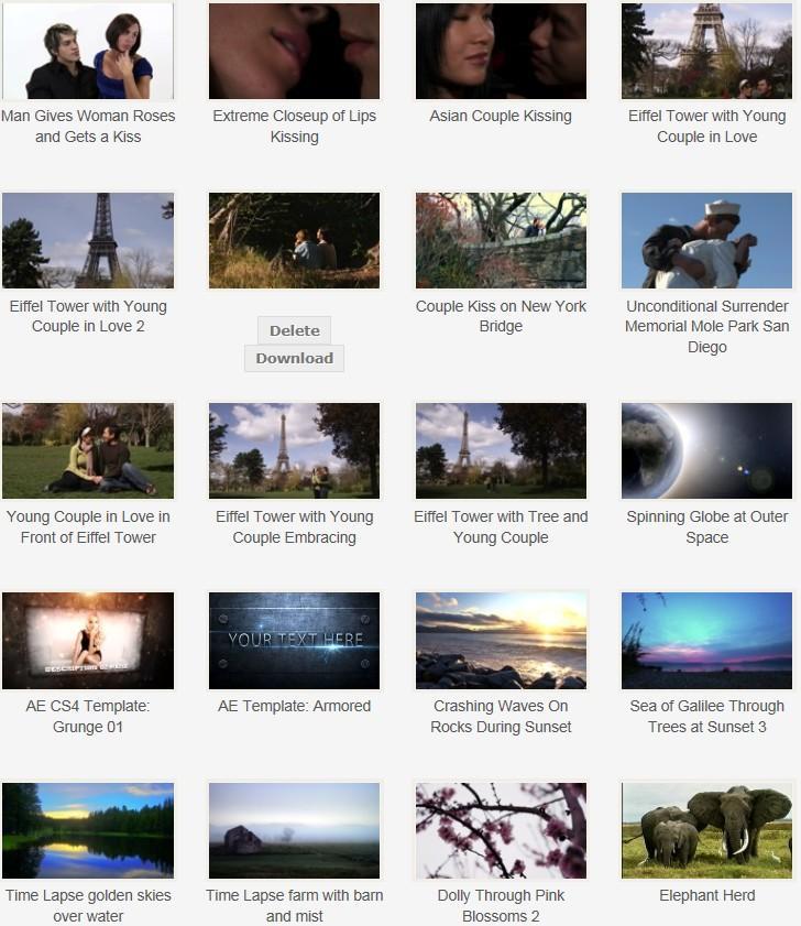 著作権フリー&商用利用可能の動画素材、音楽、効果音のダウンロード イメージ1