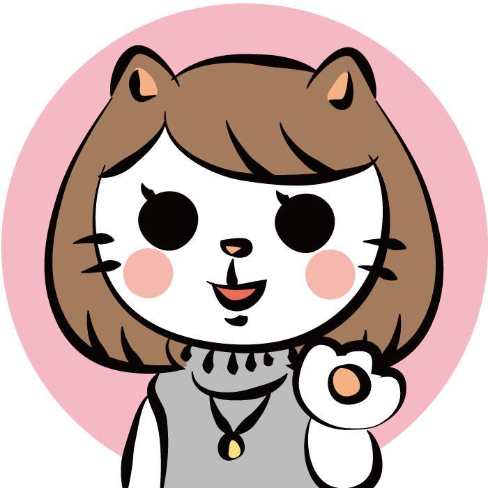 ネコ似顔絵アイコン作成させていただきます ただの似顔絵に飽きた方へ少し遊び心のあるネコ似顔絵を!