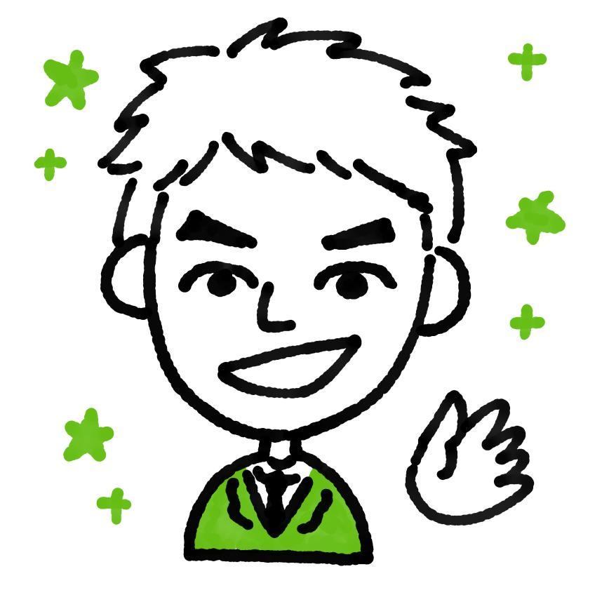 名刺やアイコンに★シンプルでお洒落な似顔絵描きます プロのイラストレーターが描く「おしゃれで可愛い」似顔絵です!