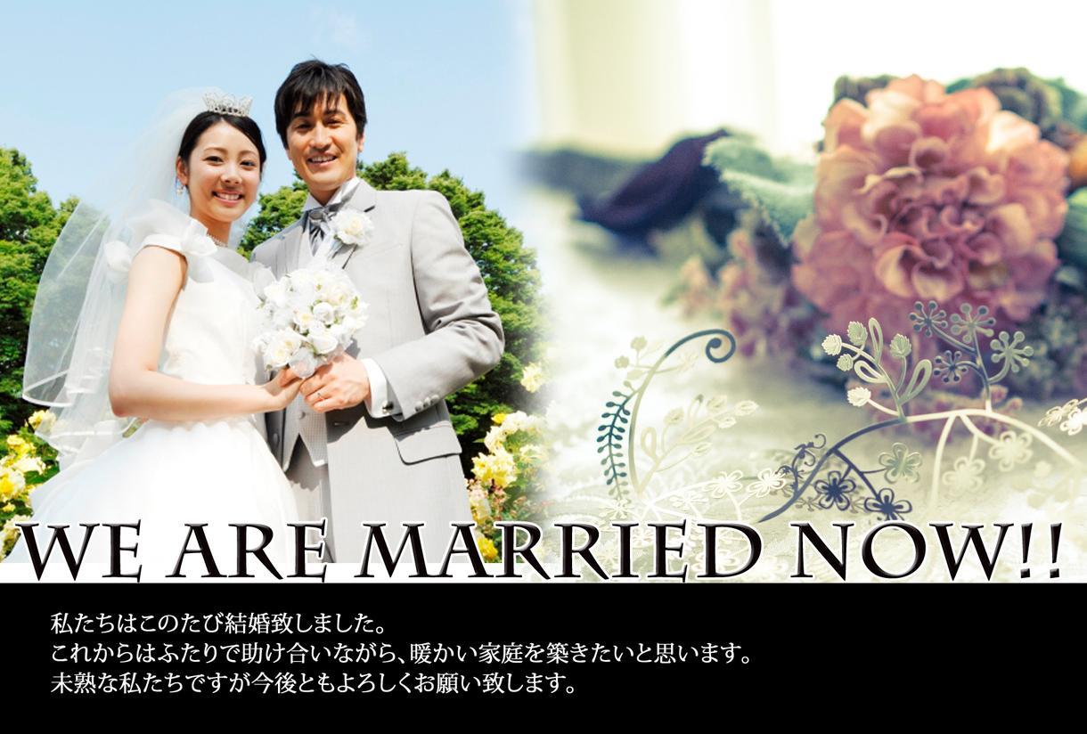 サービス停止中!年賀状、結婚報告はがき編集します 無料テンプレートです。編集はお休みしています。