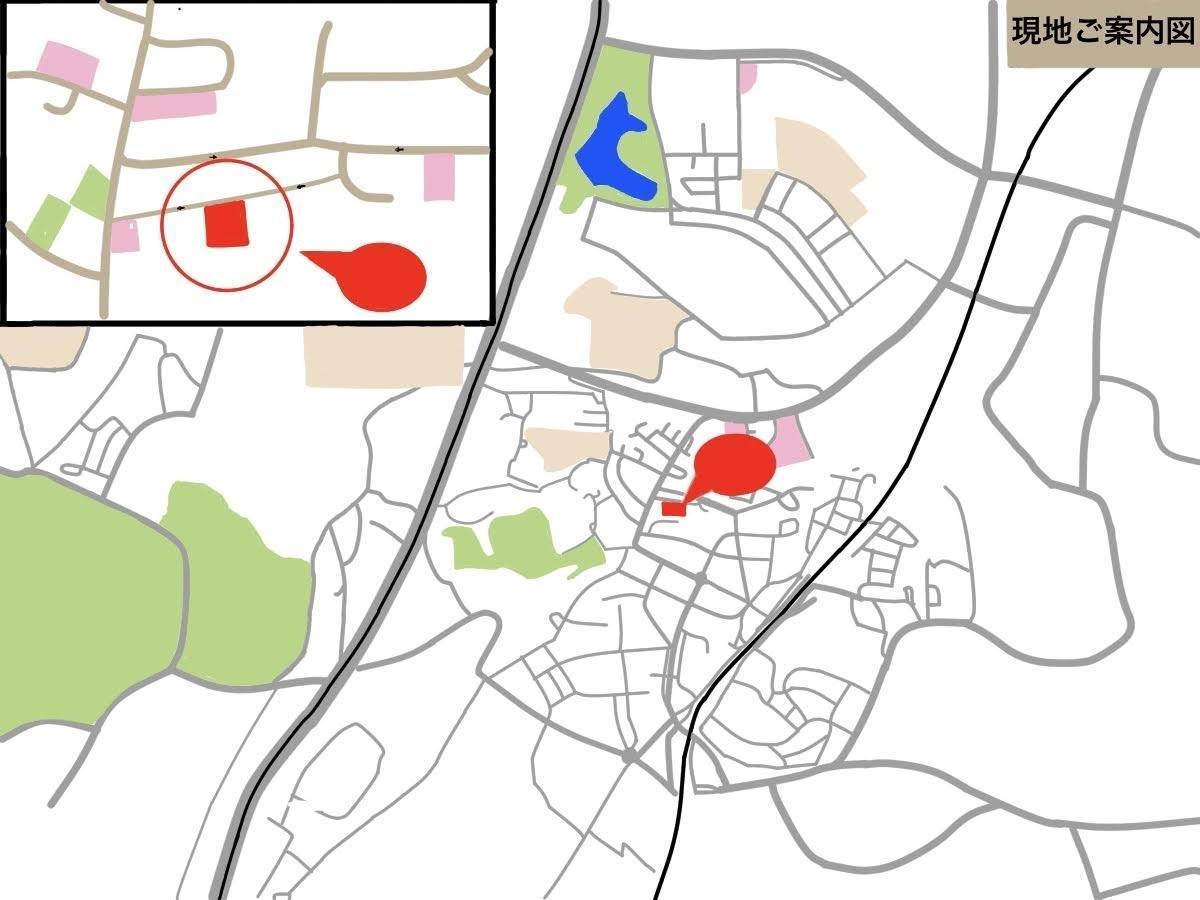 地図作成いたします お安く!見やすいマップを作らせていただきます! イメージ1