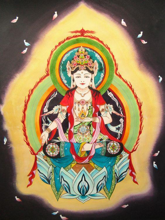 あなたの干支守り本尊、描きます 天然神仏画師が描くオリジナル神仏画