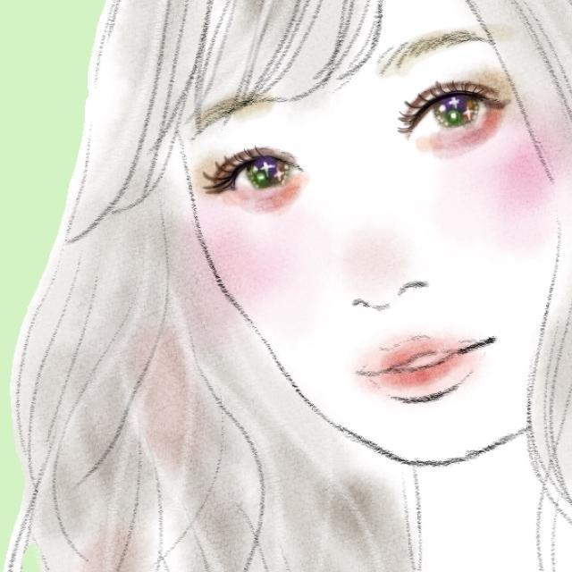 目がキラキラのおしゃれな似顔絵描きます お写真からお洒落な似顔絵を作成♪プレゼントやSNSアイコンに イメージ1