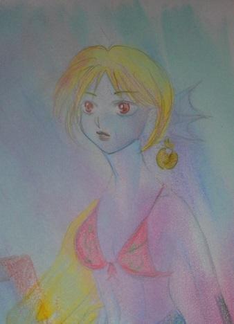 あたたかみのある、イラスト描きます 色鉛筆を使ったイラストを作成します。