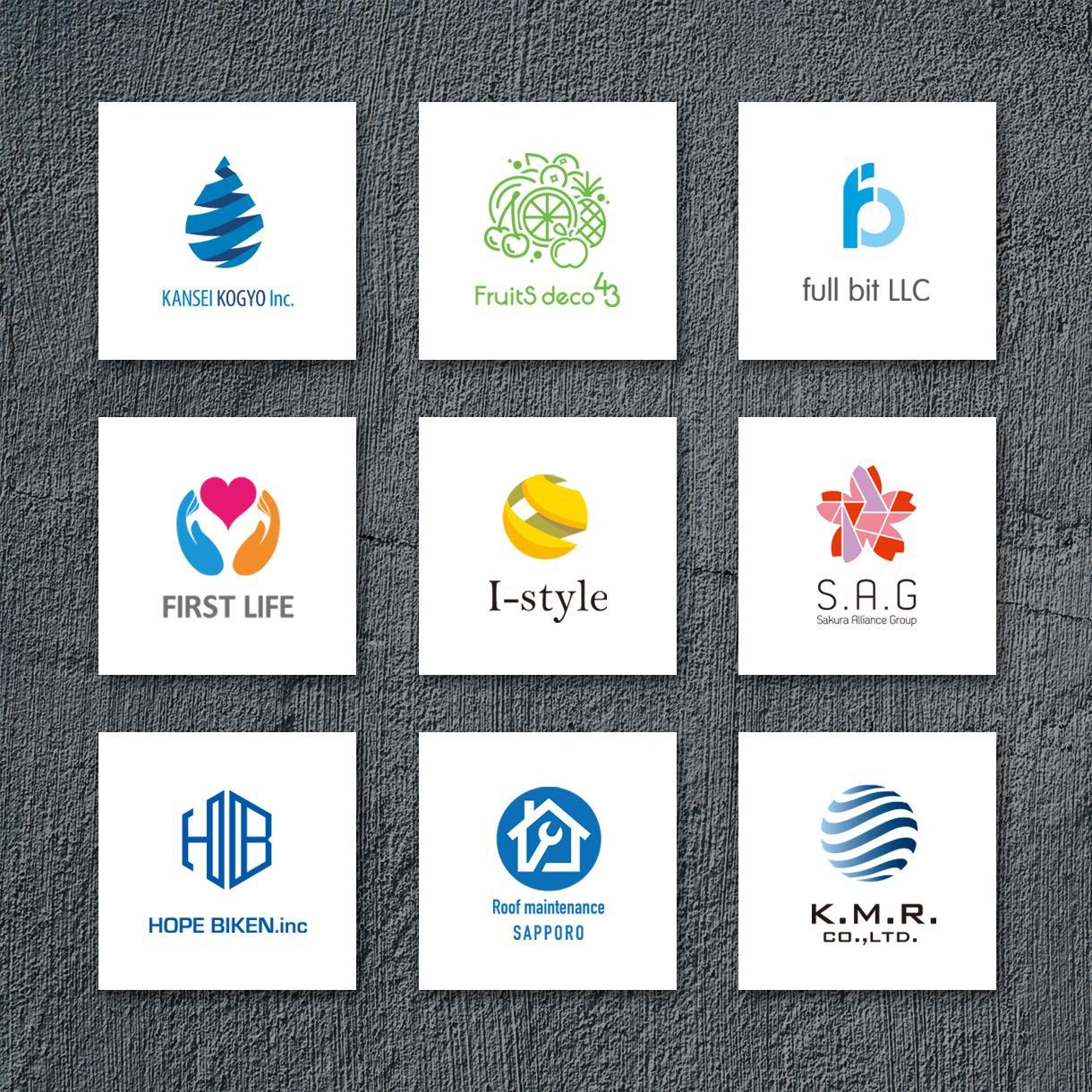プロのデザイナーがハイクオリティなロゴを作成します NIPPON DESIGN はAIとアウトラインデータが無料 イメージ1