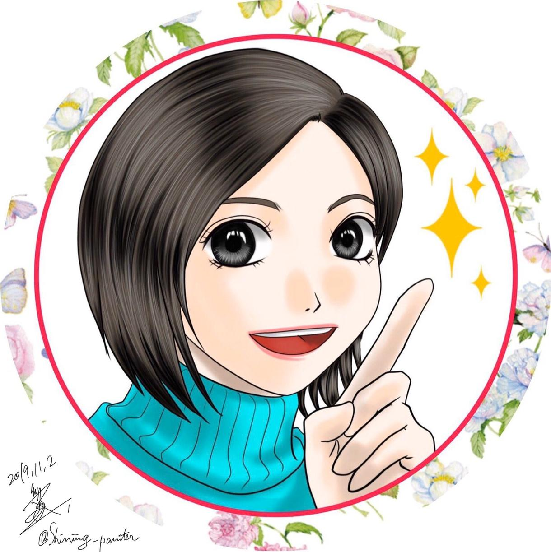 Twitterやブログの似顔絵アイコン承ります アイコンはあなたの『顔』。その第一印象をまかせてみませんか?