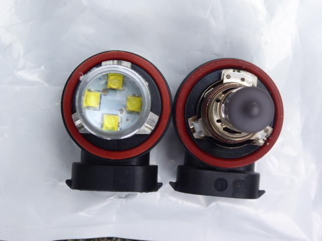 爆光80WのフォグランプLEDを自分で対策します 明るすぎるフォグランプは車検に落ちる。自分で対策してみました
