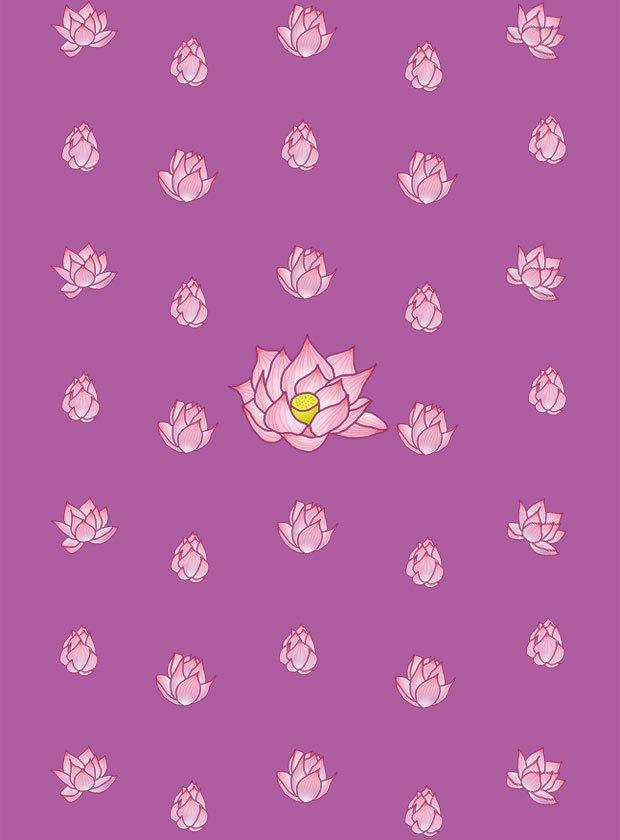 ほんわかした花や女性等のイラスト描きます ちょっとした挿絵やポストカード等にどうぞ