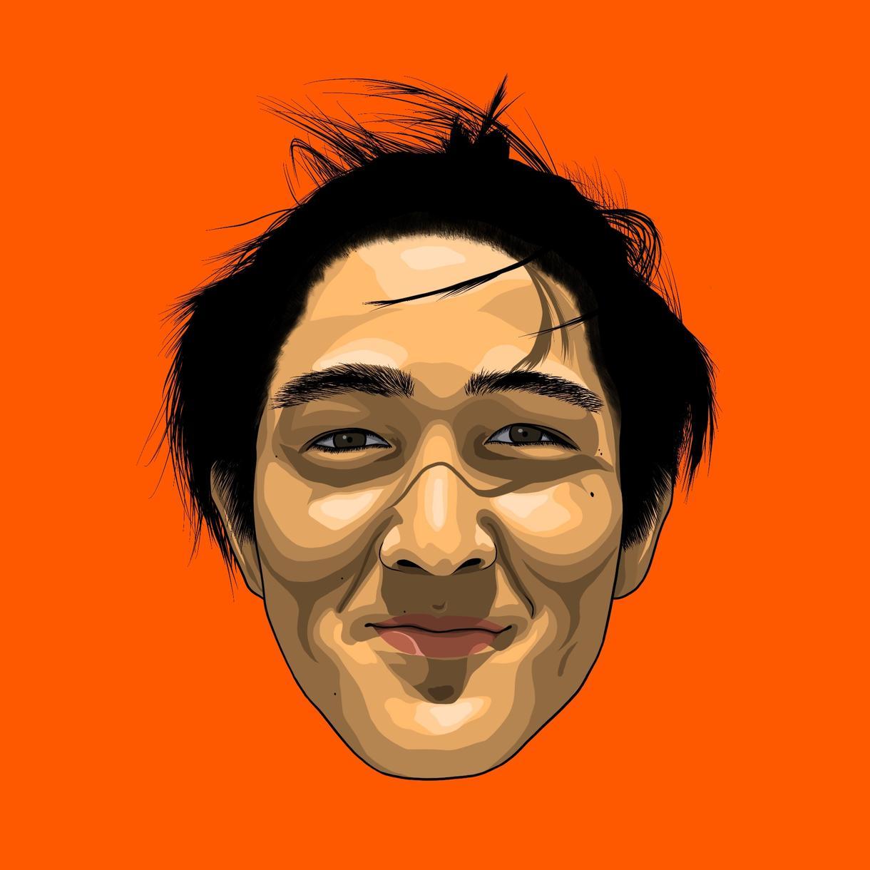 海外のおしゃれなポスター風似顔絵作成します 他の人のアイコンと差をつけたい人へ